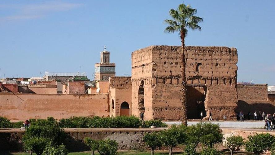 Palacio badi marrakech