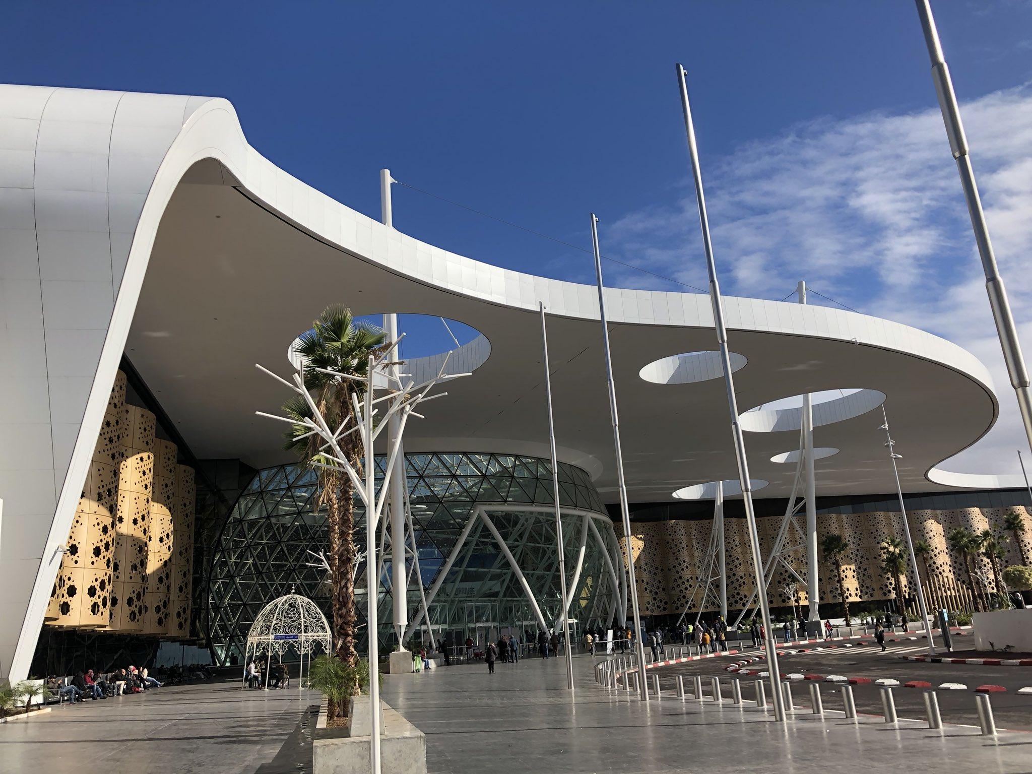 aeropuerto de menara marrakech