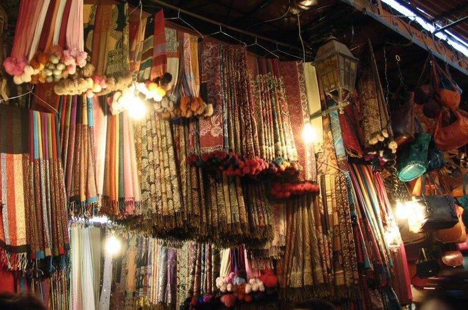 artesania zocos marrakech