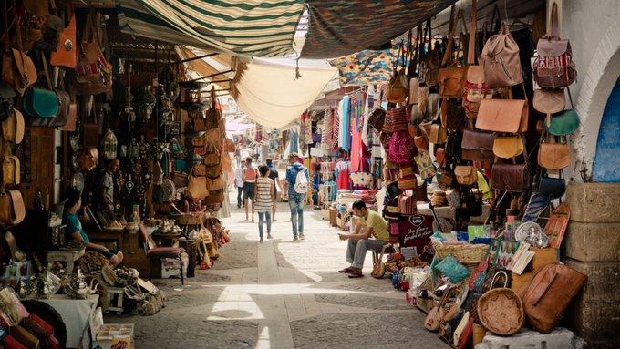 comprar en los zocos de marrakech