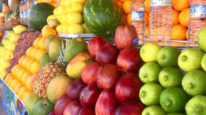fruta en Djemma el Fna